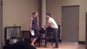 Annie and Max working as Blanche and Stanley in Streetcar